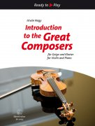 Introduction to the Great Composers for Violin and Piano - housle a klavír