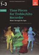 Time Pieces 1 for Treble (Alto) Recorder / altová zobcová flétna + klavír