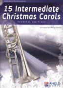 15 Intermediate Christmas Carols + CD / trombon (pozoun) + klavír