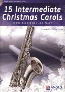 15 Intermediate Christmas Carols + CD / tenorový saxofon + klavír