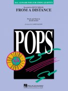 Pops for String Quartets - FROM A DISTANCE