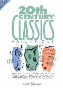 20th CENTURY CLASSICS 1 for piano duet / 1 klavír 4 ruce