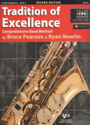 Tradition of Excellence 1 + Audio Video Online / altový saxofon