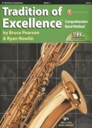 Tradition of Excellence 3 + Audio Video Online / barytonový saxofon