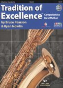 Tradition of Excellence 2 + DVD / barytonový saxofon