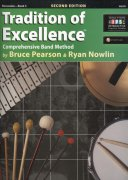 Tradition of Excellence 3 + Audio Video Online / percussion