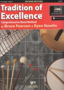 Tradition of Excellence 1 + Audio Video Online / percussion