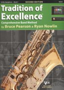 Tradition of Excellence 3 + Audio Video Online / altový saxofon