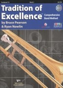 Tradition of Excellence 2 + DVD / trombon T.C. (pozoun - houslový klíč)