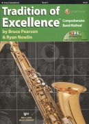 Tradition of Excellence 3 + Audio Video Online / tenorový saxofon