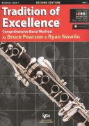 Tradition of Excellence 1 +  Audio Video Online / klarinet