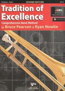 Tradition of Excellence 1 +  Audio Video Online / trombon (pozoun)
