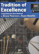 Tradition of Excellence 2 + Audio Video Online / percussion