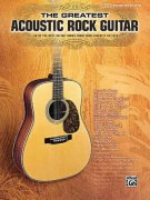 The Greatest Acoustic Rock Guitar / kytara + tabulatura