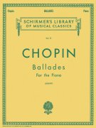CHOPIN: BALLADES for the piano / Balady pro klavír