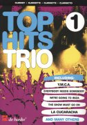 TOP HITS TRIO 1  / 14 hitů pro 3 klarinety