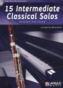 15 Intermediate Classical Solos + CD / fagot + klavír