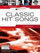 Really Easy Piano Playalong: Classic Hit Songs (Book/Audio Download)