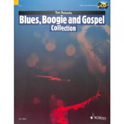 Blues, Boogie and Gospel Collection + CD - 15 skladeb pro klavír sólo