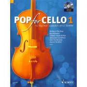 Pop For Cello 1 + CD - popové skladby pro 1-2  violoncella