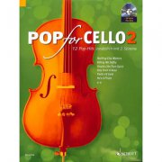 Pop For Cello 2 + CD - popové skladby pro 1-2 violoncella