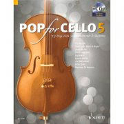Pop For Cello 5 + CD - popové skladby pro 1-2 violoncella