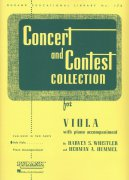 CONCERT & CONTEST COLLECTIONS viola - sólový sešit