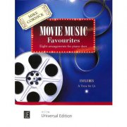 Movie music favourites + CD - klavír 4 MS