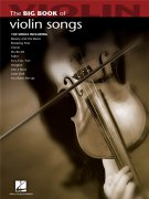 Big Book Of Violin Songs sólové skladby pro housle