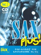 SAX PLUS !  vol. 7 + CD  /  altový (tenorový) saxofon