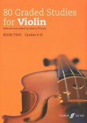 80 Graded Studies for Violin 2 (51-80) / housle