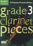 GRADE 3 - 15 Popular Practice Pieces + Audio Online / klarinet