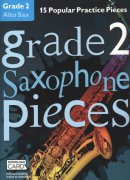 GRADE 2 - 15 Popular Practice Pieces + Audio Online / altový saxofon