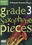 GRADE 3 - 15 Popular Practice Pieces + Audio Online / altový saxofon