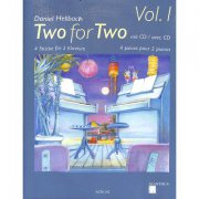 TWO FOR TWO 1 + CD - Hellbach Daniel - 4 skladby pro 8 ruk