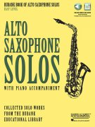 Alto Saxophone Solos with Piano Accompaniment – Easy Level + Audio Online / altový saxofon + klavír (online)