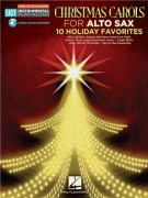 Alto Saxophone Easy Instrumental Play-Along: Christmas Carols (Book/Online Audio)
