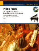 Easy Piano Classics + CD - 30 Famous Pieces from Bach to Gretchaninoff
