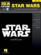 Violin Play Along 62 - STAR WARS + Audio Online