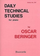 Oscar Beringer: Daily Technical Studies For Piano