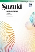 Suzuki Guitar School Volume 1 Revised Edition Guitar Book/Cd