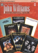 The Very Best of John Williams - Instrumental Solos + CD / klavírní doprovod