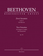Two Sonatas for Pianoforte E major, G major op. 14 - Beethoven, Ludwig van