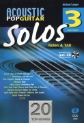 Acoustic Pop Guitar Solos 3 + CD