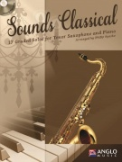 Sounds Classical - 17 Graded Solos + CD / tenorový saxofon + klavír