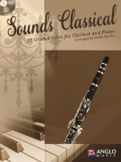 Sounds Classical - 17 Graded Solos + CD / klarinet + klavír