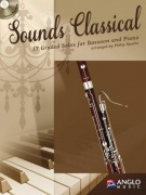Sounds Classical - 17 Graded Solos + CD / fagot + klavír