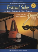 Standard of Excellence: Festival Solos 2 + CD / fagot