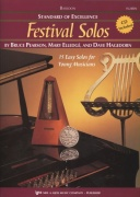 Standard of Excellence: Festival Solos 1 + CD / fagot