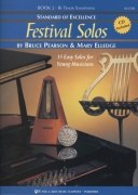 Standard of Excellence: Festival Solos 2 + CD / tenorový saxofon